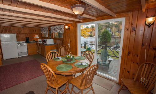 McKenzie Cottage Dining Room - Harbor Hill at Saranac Lake