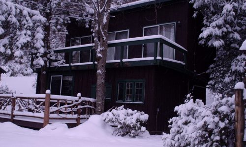 McKenzie Cottage Winter - Harbor Hill at Saranac Lake